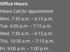 tucker hours